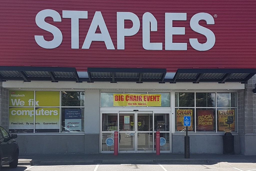 Previous; Next & Staples | Cloverdale BIA