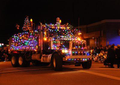 Cloverdale Santa Parade of Lights