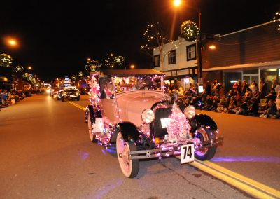 Cloverdale Santa Parade of Lights