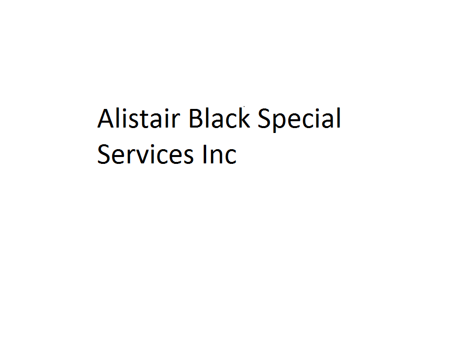Alistair Black Special Services Inc