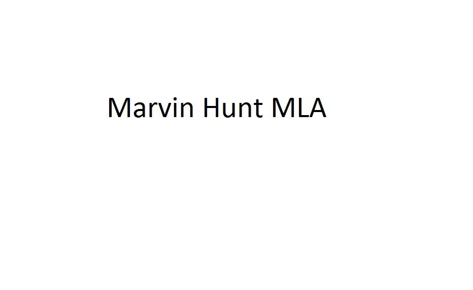 Marvin Hunt MLA