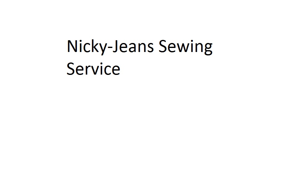 Nicky-Jeans Sewing Service