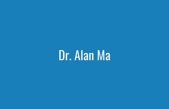 Dr Alan Ma