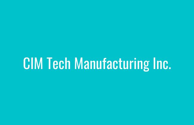 CIM Tech Manufacturing Inc.