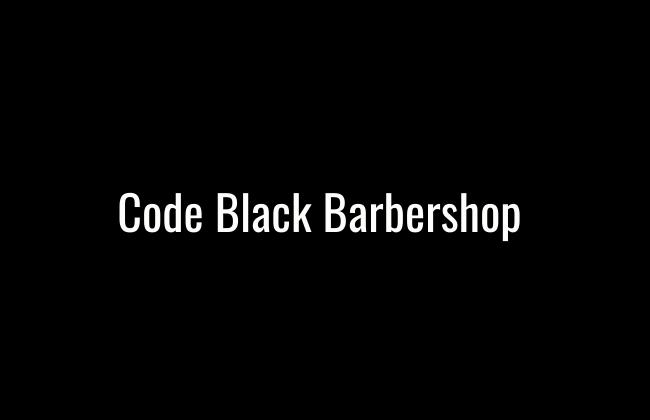 Code Black Barbershop
